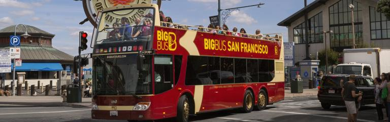 Open Top Sightseeing Tours With Big Bus Blazing Saddles