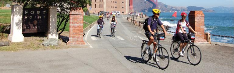 Golden Gate Bridge Guided Bike Tour Blazing Saddles