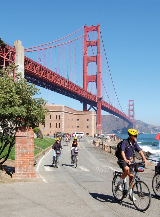Bike The Golden Gate Bridge To Sausalito Amp Tiburon In San
